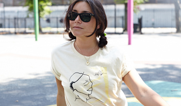 Sharon Van Etten designed Yellow Bird Project t-shirt
